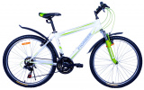 "Велосипед Pioneer Cowboy T 17"" white/green/grey"