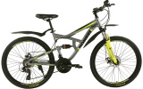 "Велосипед Pioneer Safari 26"" AL17"" gray-green-black"