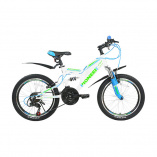 "Велосипед Pioneer Triumph 20""/13"" white//blue/green"