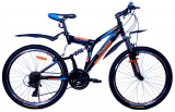 "Велосипед Pioneer Comfort T 19"" black/blue/orange"