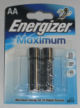 Батарейка ENERGIZER MAXIMUM AA